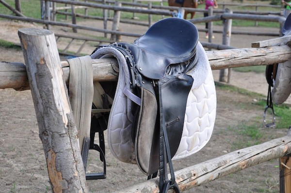 English Riding Saddle