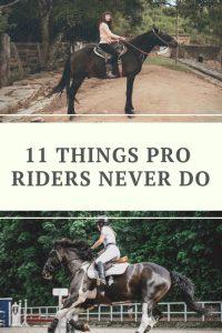 Horseback Riding Mistakes