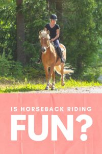 Is Horseback Riding Fun to Do?