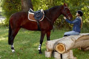 horseback riding students